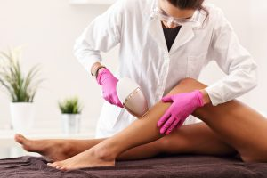 Laser Hair Removal Procedure Legs