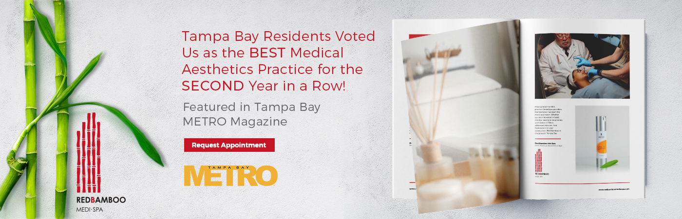 Tampa bay residents voted us as the best medical aesthetics practice for the second year in a row!