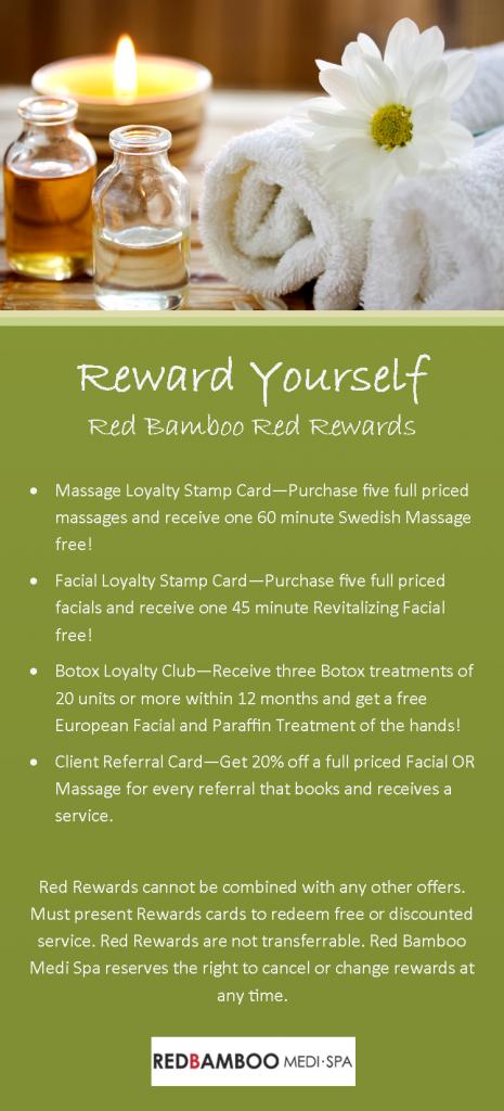 Red Rewards Loyalty Card Rack